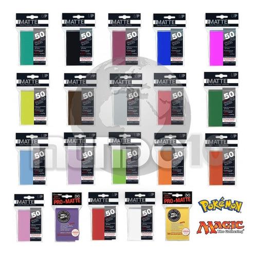 Ultra Pro Matte Sleeves 50 Standard - Magic Pokémon -62x89mm