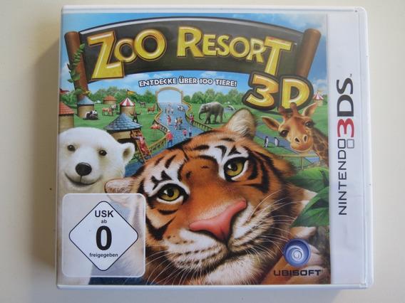 Zoo Resort 3d Nintendo 3ds - Mídia Física Usado
