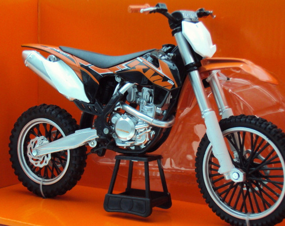 Moto Ktm 450 Sx-f Newray Escala 1:6 1/6 New Ray Motocross