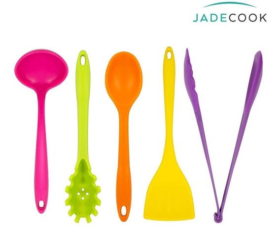Jade Cook- Set De Utensilios 5 Piezas- Cv Directo