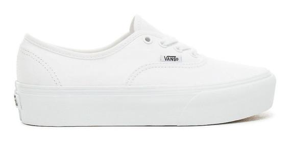 Vans Authentic Plataforma White/white Vn-0a3av8w00