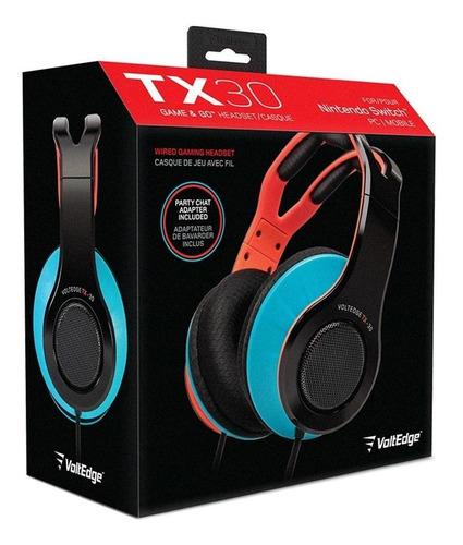 Imagen 1 de 5 de Headset Tx30 - Switch Voltedge ( Garantía De Por Vida )