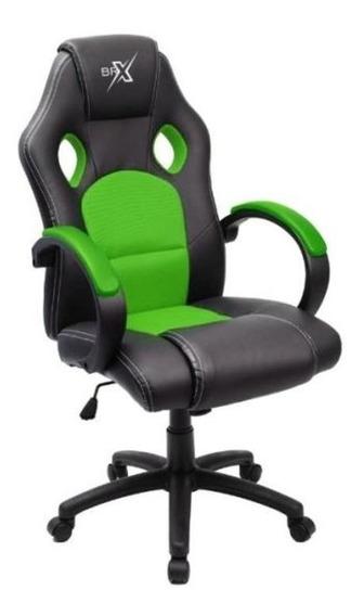 Cadeira Gamer Braço Acolchoado, Função Balanco Barata Brx