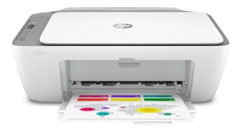 Imagem 1 de 5 de Impressora a cor multifuncional HP Deskjet Ink Advantage 2775 com wifi branca 100V/240V