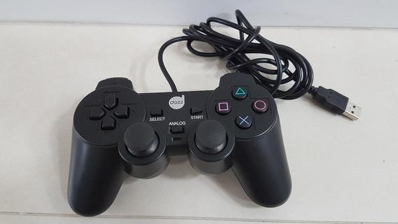 Controle Dual Shock Dazz Pc (analógico / Digital)