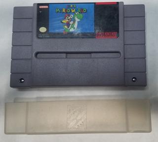 Super Mario World Para Supernintendo Snes - Cartucho 1991