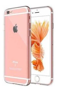 Capa Incolor Tpu Para iPhone 6 6s Silicone Maleavel