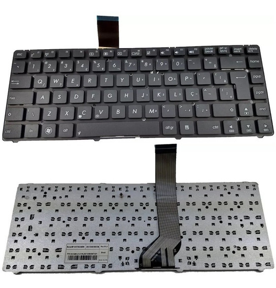 Teclado Notebook Asus K45 K45 Mp-10h73su-698w 0knb0-4141 Br