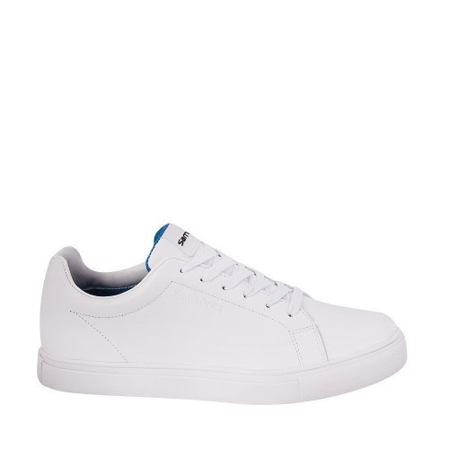Tenis Casual Caballero samsonite Color Blanco Piel Xt490