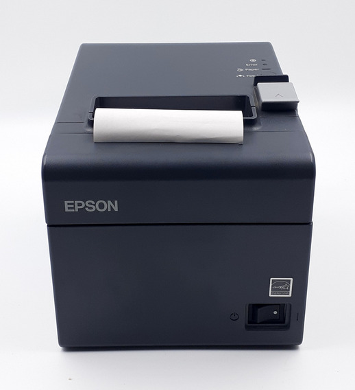 Impressora Térmica Epson Tm-t20 | Usb | Guilhotina | Cinza
