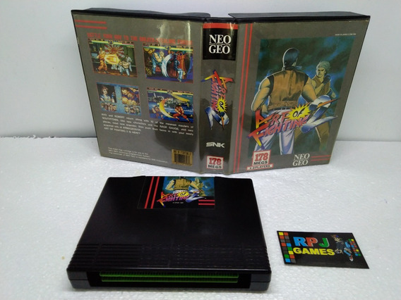 Art Of Fighting 2 Original Snk C/ Caixa P/ Neo Geo Aes - &&