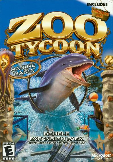 Video Juego Para Computadora Zoo Tycoon Marine Mania Pc Micr