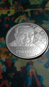 Cartela-moeda Prata Cândido Portinari Completa