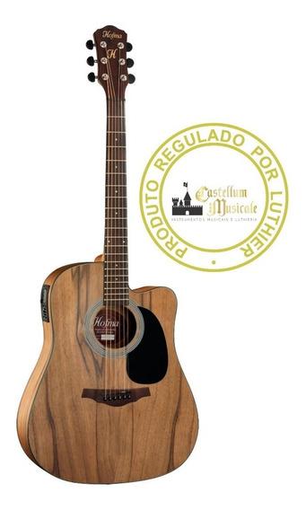 Violão Hofma Hmf 270 Folk Stnt Regulado Testado Por Luthier