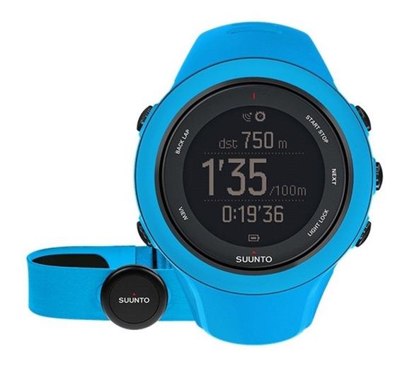 Reloj Multifuncional Deportivo Ambit3 Sport Azul Suunto