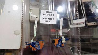 Boton De Encendido Acer 4551 G Series