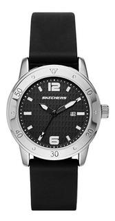 Reloj Skechers Deportivo,malla De Silicona,calendario,sr6049