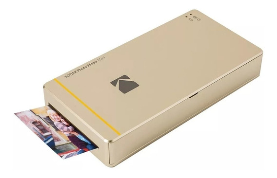 Impressora Instantânea Kodak Photo Printer Mini Pm-210 Gold