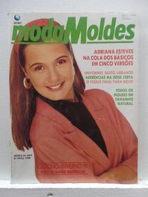 Revista Moda Moldes #58 Abril 1991 - Com Moldes