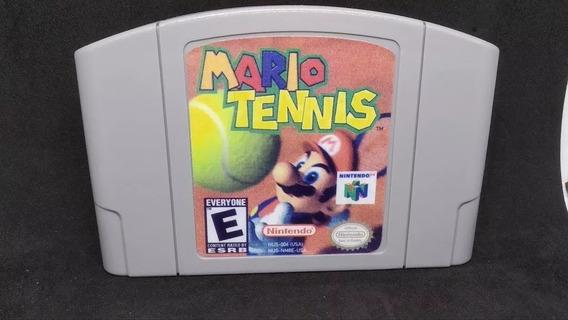 Fita / Cartucho Mario Tennis Nintendo 64 N64 Salvando