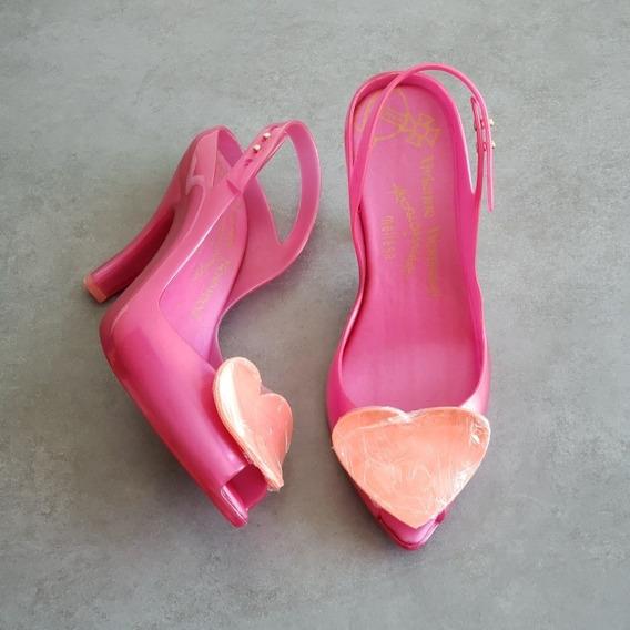 Melissa Lady Dragon Heart + Vivienne Westwood - Rosa