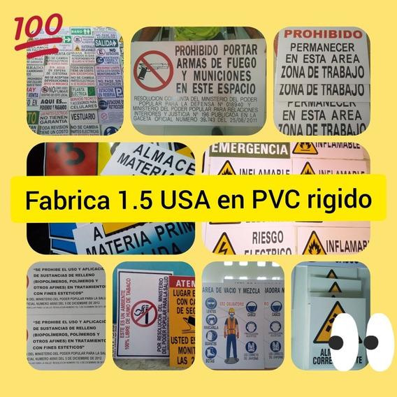 Avisos Señalizacion Carteles Información Industrial 2019