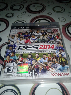 Pes 2014 - Ps3 - Físico Impecable!!!