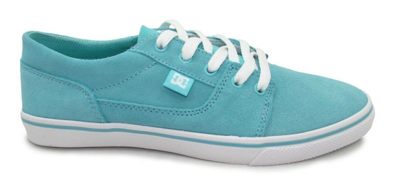 Tenis Dc Shoes Tonik W Se Womens Adjs300075 Aqa Aqua Azul