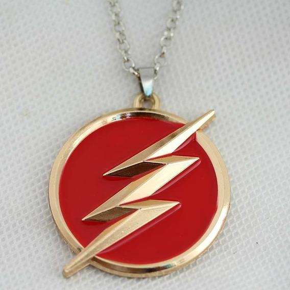 Colar Série The Flash - Dc Comics Liga Da Justiça