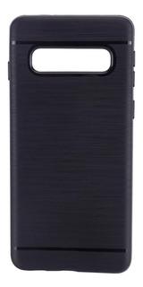Capinha Silicone Escovado Samsung S10 Plus J4 J7 J5 Proteção