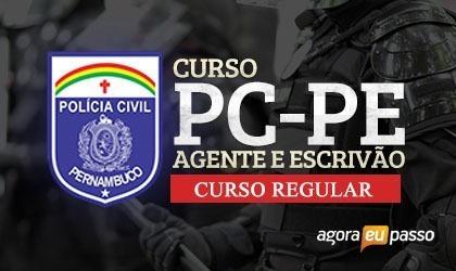 Agente E Escrivão Policia Pc Pe Civil 2019 Pernambuco