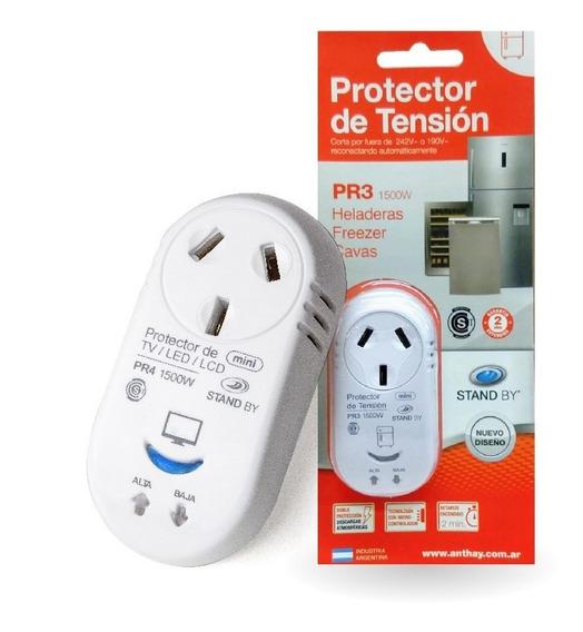 Protector Tensión Heladera Electrodomésticos Corte De Luz