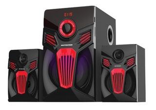 Teatro En Casa Premier 6139 2.1 Canales Usb Sd Bluetooth