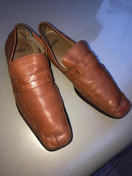 Zapatos Hombre Cuero zara 42