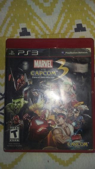 Marvel Vs.capcom 3 Ps3 - Sem Manual