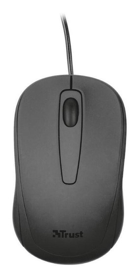 Mouse Óptico Trust Ziva 1000dpi Com Fio Pronta Entrega