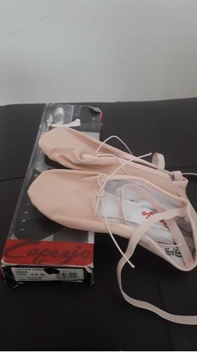 Zapatillas Ballet Media Punta. Marca Capezio