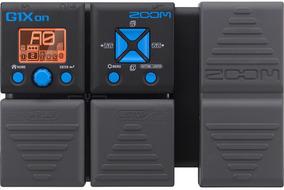 Pedal Multiefectos Zoom G1xon Para Guitarra Eléctrica.