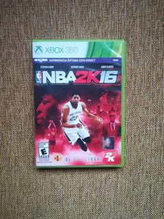 Nba 2k 16 Xbox 360. Envios Gratis A Todo Chile.