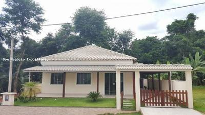 Casa Em Condomínio Para Venda Em Guapimirim, Caneca Fina, 3 Dormitórios, 2 Suítes, 4 Banheiros, 2 Vagas - 008