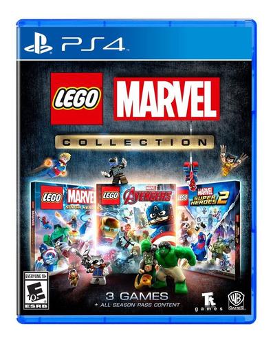 Juego Lego Marvel Collection Ps4  ¡totalmente Nuevo!