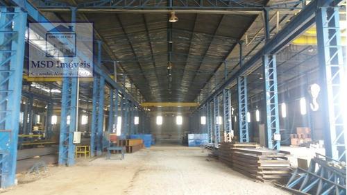 Imagem 1 de 5 de Galpão/pavilhão Para Alugar No Bairro Centro Em Guarulhos - 1133-2