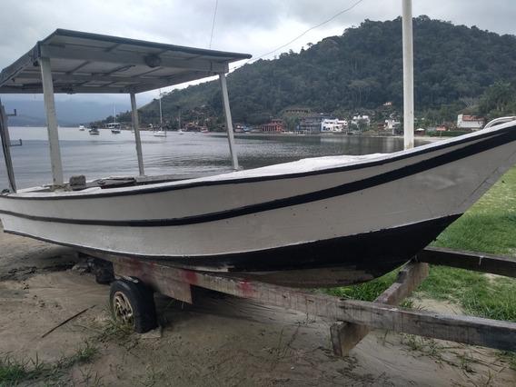 Barco Casco Fibrado Balieira