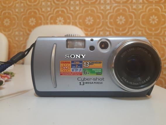 Câmera Digital Fotográfica Sony Cybershot Dsc P30 1.3megapix