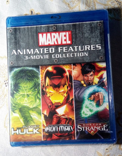 Blu-ray Marvel Animated Features 3-movie Collection
