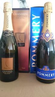 Combo Champgane Pomery + Champagne Chandon
