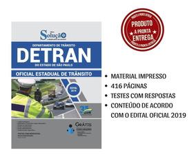 Apostila Detran Sp 2019 - Oficial Estadual De Trânsito