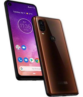 Smartphone Moto One Vision, Bronze, Tela 6,3 128gb, 48mp