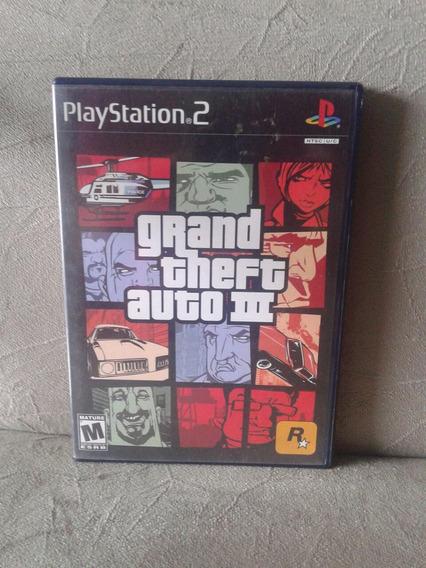 Gta 3 Original Playstation 2 Ps2 Com Poster