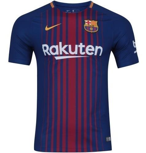 Camisa Barcelona 17/18 - Oficial Nike - Messi 10